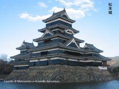 """Castello di Matsumoto o «Castello del corvo». #HANAMI Sentimento del Giappone, presentazione della lecture sui Castelli e giardini del #Giappone a cura della Dott.ssa Francesca Meddi - Landscape designer """"Lefty Gardens"""" www.midec.org"""