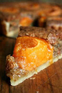 Apricot & Almond Tart - might try this with pistachio and recreate my favourite treat from Paris <3