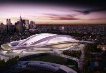 Амбициозный проект национального стадиона в Токио от архитектора Zaha Hadid