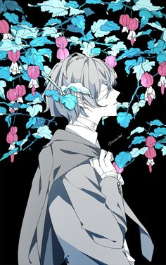 Ảnh Bungou Stray Dogs (or somethings) – Dazai – Best Wallpaper Dazai Bungou Stray Dogs, Stray Dogs Anime, Manga Anime, Anime Art, Anime Boys, Manga Drawing, Manga Art, Wie Zeichnet Man Manga, Satsuriku No Tenshi
