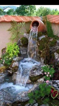 5 Tips You Should Know About Building Ponds – My Best Rock Landscaping Ideas Pond Landscaping, Ponds Backyard, Landscaping With Rocks, Backyard Ideas, Best Rock, Garden Theme, Country Living, Fountain, I Am Awesome