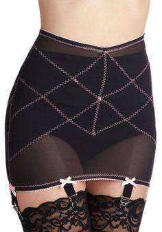 ec38b82ed4 Smooths in Her Own Way Garter Skirt