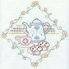 Chá e bolinhos por lesa