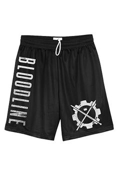 Crown The Empire - Official Merch Store - Bloodline Gym Shorts (Black)