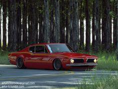 1969 Barracuda - sick!