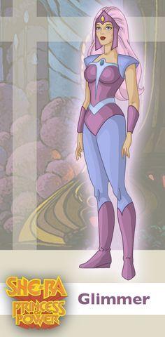 Princess of Power: Glimmer by ~davidgozu on deviantART
