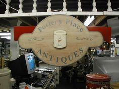 Find antiques and collectables at the Red Wing Pottery Place Antiques Store