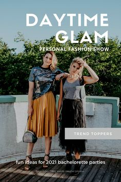 Host a personal fashion show with your besties. Check out the blog for ideas to make a fun daytime glam fashion show the part of the year. Daily Fashion, Fashion Show, Fancy Gowns, Bridal Showers, Orange, Guys And Girls, Get Dressed, Vintage Designs, Besties