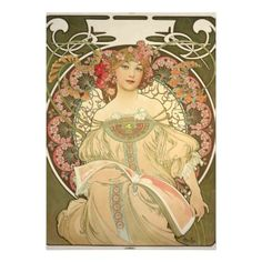 The official site of the Mucha Foundation. A comprehensive resource for information on Alphonse Mucha (or Alfons Mucha) with details on his life, the Mucha Trust Collection, news, exhibitions, events and publications. Mucha Art Nouveau, Alphonse Mucha Art, Art Nouveau Poster, Poster Art, Retro Poster, Kunst Poster, Art Posters, Poster Frames, Print Poster