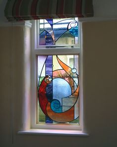 Cornish abstract window