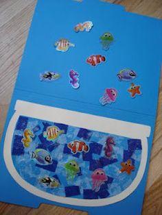 Mama Jenn: Fishbowl File Folder Matching Game/Craft