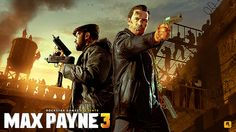 Max Payne 3 game cover