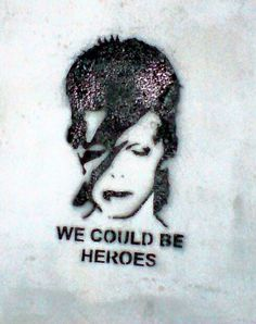 Banksy. Bowie. The man who told the world... Wake the fuck up!