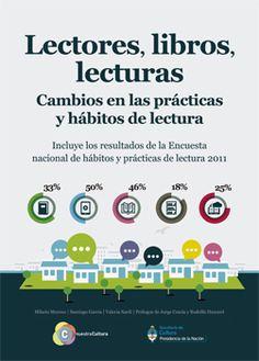 Lectores, libros y lecturas: Cambios en las prácticas y hábitos de lectura. Argentina 2011. [América]