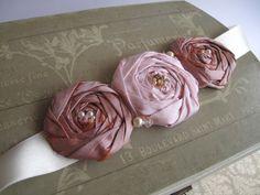 pink-fabric-flowers-flower-corsage-sash-belt
