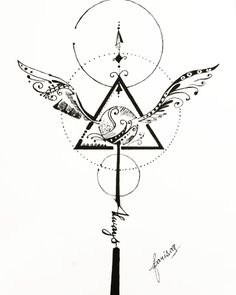Tatto Harry Potter, Harry Potter Drawings, Harry Potter Tumblr, Harry Potter Anime, Harry Tattoos, Disney Tattoos, Cute Tattoos, Body Art Tattoos, Snitch Tattoo
