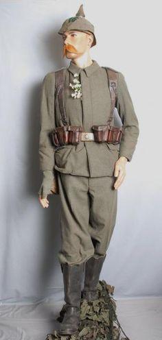 German WWI Army Uniform.