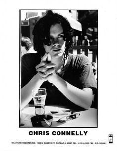 Chris Connelly - Wax Trax! Records Promo Photo