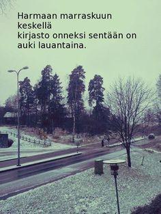 Leppävaaran kirjasto on avoinna lauantaina 15.11. klo 9 - 15. Tervetuloa! Leppävaara Library is open on Saturday 15th Nov 9 - 15. Welcome!
