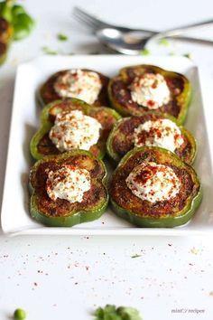 capsicum masala tikki recipe
