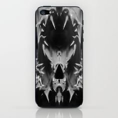 Spikes iPhone & iPod Skin by Celia Dias - $15.00