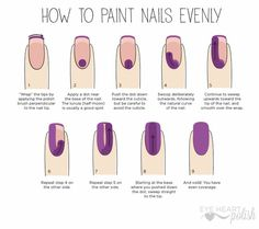 "Top 10 nail tips for doing your nails at home (that you never knew about! It's no secret that ""us"" ladies love to do our nails. Well we have Gel Nails At Home, Us Nails, Hair And Nails, Nail Art At Home, Acrylic Nails At Home, Do It Yourself Nails, How To Do Nails, How To Shape Nails, Grow Nails"