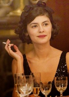 """Audrey Tautou as Coco Chanel in """"Coco Avant Chanel"""", a film by Anne Fontaine… Audrey Tautou, Coco Chanel, Amelie, Belle Epoque, Nagel Blog, Actrices Hollywood, Women Smoking, French Chic, Movie Costumes"""
