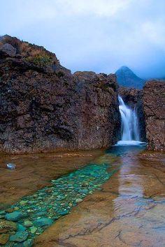 Piscina de la Hadas,Cuillins,Escocia // Fairies Pool,Cuillins,Scotland