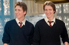 Phelps Twins, Oliver Phelps, Weasley Twins, To My Future Husband, Pranks, Love Of My Life, True Stories, Make Me Smile, Hogwarts