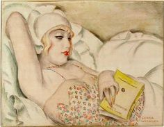 "Gerda Wegener ""La Sieste"" Nap 1922 Reproduction Digital Print Woman Beauty Falls Asleep Reading a Book Art Nouveau Art Deco, Art Nouveau, People Reading, Woman Reading, Harlem Renaissance, Gerda Gottlieb, Gerda Wegener Paintings, Lili Elbe, The Danish Girl"