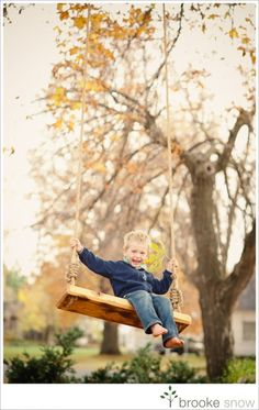 have guy build this tree swing
