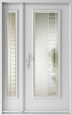 Vitraux - portes extérieures - Concept #482