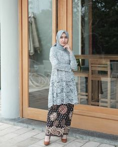 Model Hijab Brokat Nusagates