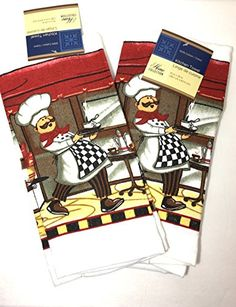 Home Collection Gourmet Chef Kitchen Towel Set