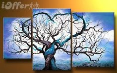 Modern Oil Painting on Canvas Stretched Framed on Wooden Frame - Origin of Life. Oil Painting, ever since back then (Renaissance) has become very popular and a new way to make art noticabl. Oil Painting Trees, Modern Oil Painting, Oil Painting Abstract, Oil Paintings, Painting Canvas, Cheap Paintings, Simple Paintings, Modern Paintings, China Painting