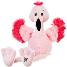 "Webkinz Fancy flamingo 8.5"" Plush *** Want to know more, click on the image. (This is an affiliate link) #Puppets"