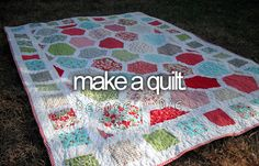 Make a quilt. (with my Kappa t-shirts.)
