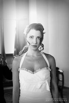 Getting ready #bride