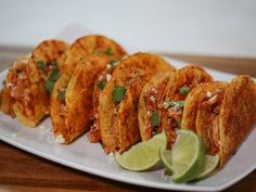 Ayesha Curry's Pulled Chicken Tacos w/Seasoned Taco Shells