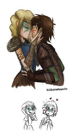 The good luck kiss