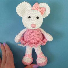 Crochet For Children: Ballerina Mouse Amigurumi - Free Crochet Pattern