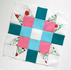 Block-a-Day - Block 215 Genny and Ruth Block | Somehow I mis… | Flickr