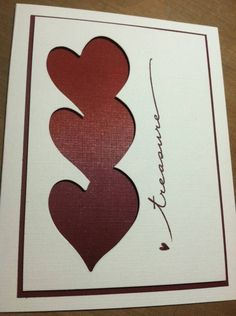 Anniversary Card CAS by rdm - Cards and Paper Crafts at Splitcoaststampers