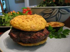Nut-Free Sesame Hamburger Buns - The Paleo Mom