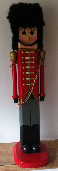 Wooden Toy Soldier by BabblinBabes on Etsy, $67.50