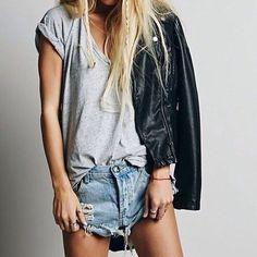 Short Jeans  Rock
