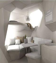 Futuristic tiny home design by TinyHousesAustralia| www.bocadolobo.com/ #luxuryfurniture #designfurniture
