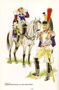 French; 13th Cuirassiers in Spain