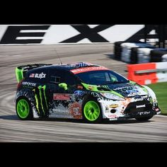 ©KenBlock, Here's a shot from yesterday's Global Rally cross qualifying session (I qualified 4th). - 09/06/2012  #auto #rally