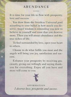 #Abundance http://www.effortless-abundance.net